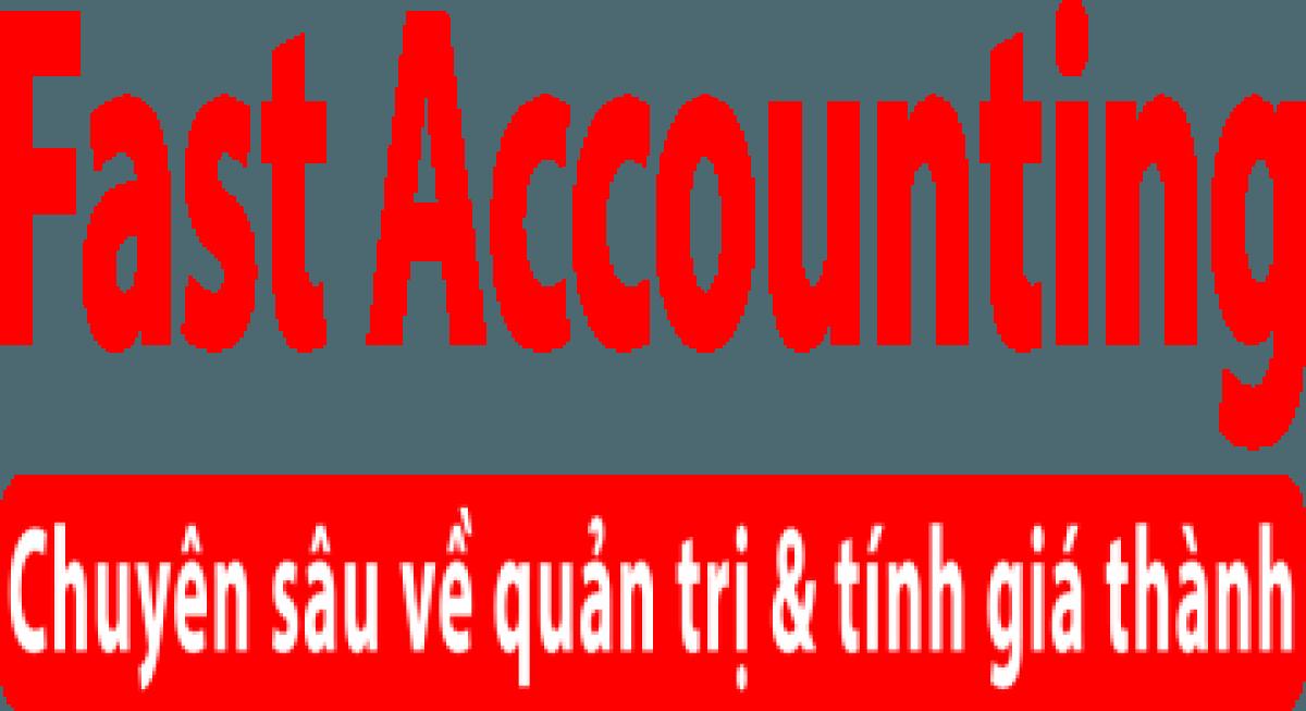Bảng giá phần mềm kế toán Fast Accounting